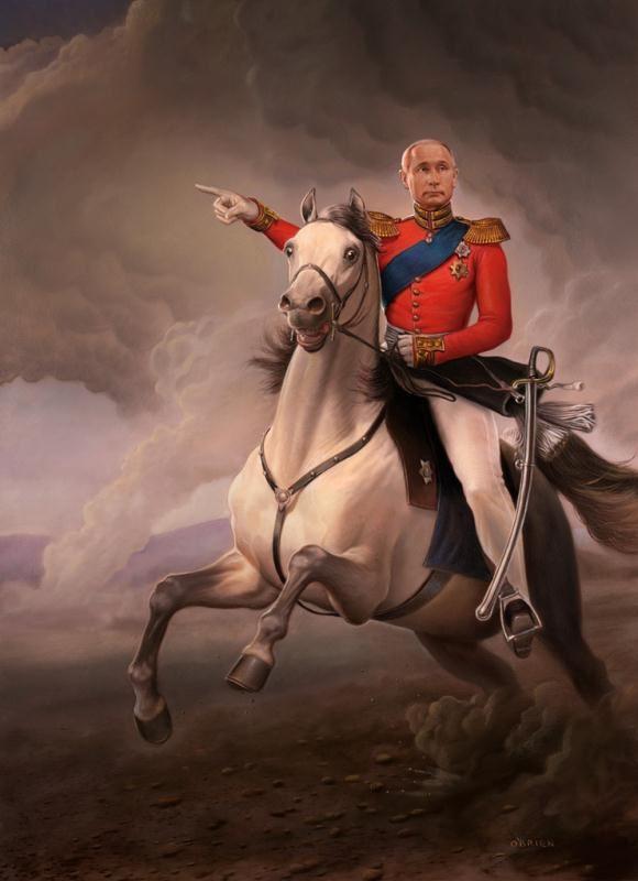 油画肖像作品欣赏-国外当代画家作品